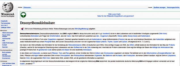 Begriff DNA