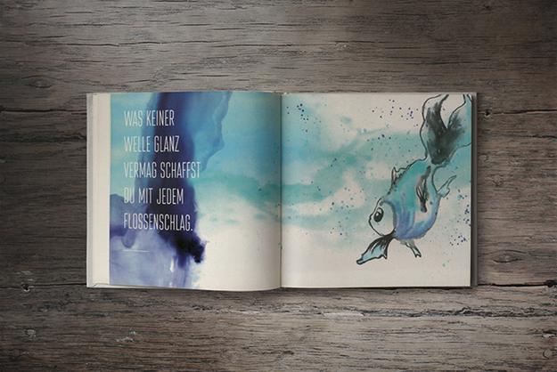 Illustration von Mein kleiner Fisch