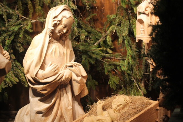 Maria und ihr Kind Jesus