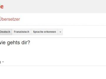 Sprachtool von Google